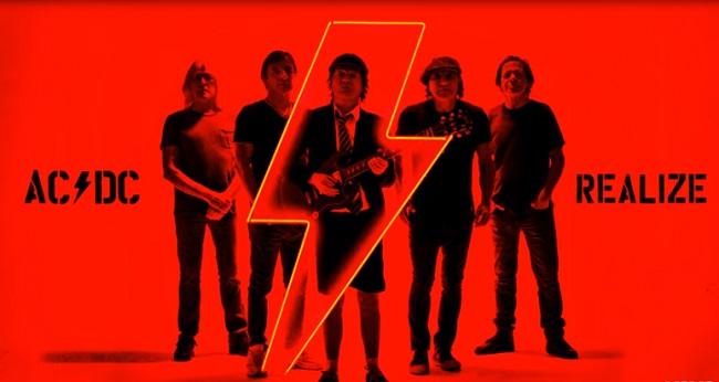 """Escucha """"Realize"""", el segundo single del nuevo álbum de AC/DC"""