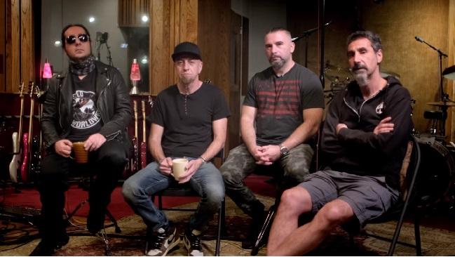 System of a Down se reúnen para agradecer a sus fans por la ayuda y recaudación para Armenia