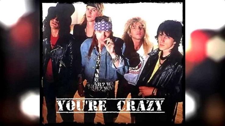 """Cancionero Rock: """"You're Crazy"""" – Guns N' Roses (1987)"""