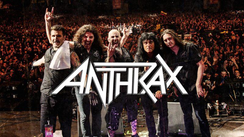 """Anthrax: """"Queda una semana para que los mosh más grandes del planeta comiencen"""""""