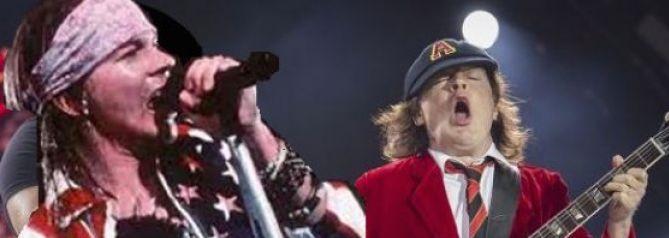 AC/DC seguirá adelante con su gira y grabará temas con Axl Rose