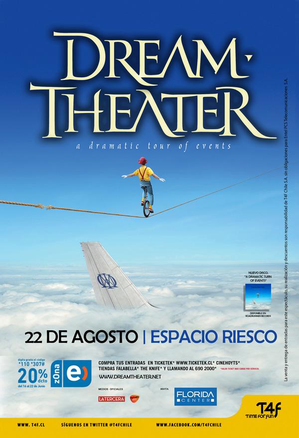 Dream Theater regresa a Chile, entradas a la venta