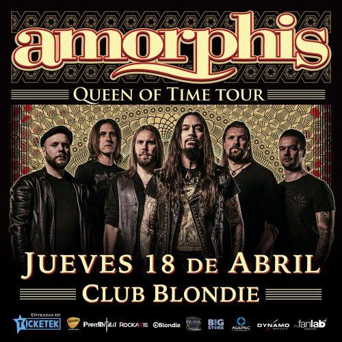 Los finlandeses de Amorphis regresan a Chile en 2019