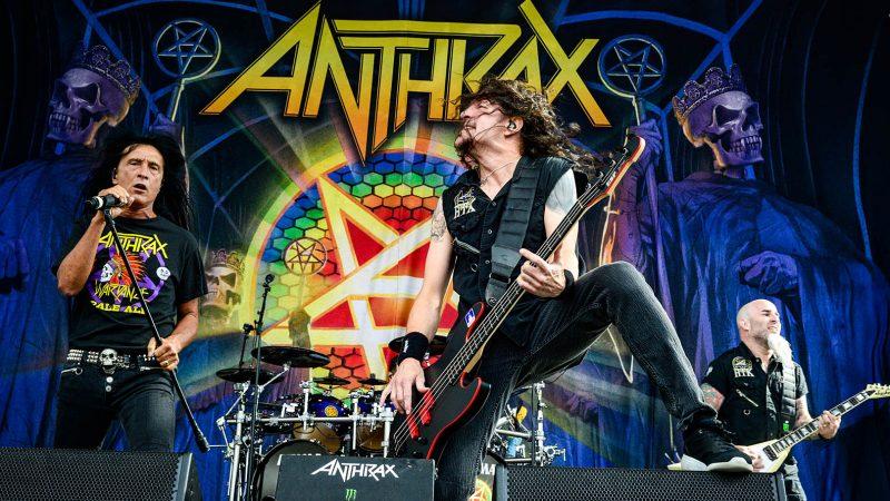 """Anthrax prepara """"algo grande"""" para celebrar sus 40 años de historia"""