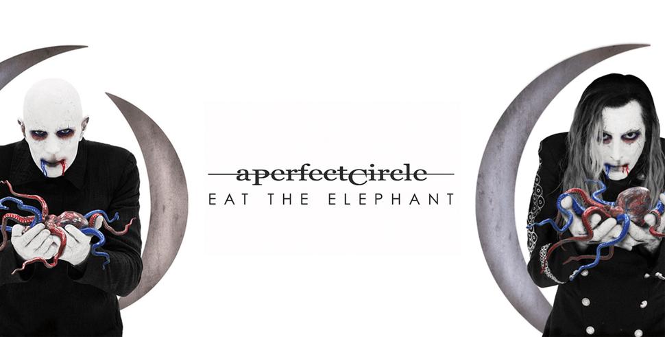 """Estreno: Ya está en línea completo """"Eat The Elephant"""", el esperado nuevo álbum de A Perfect Circle"""