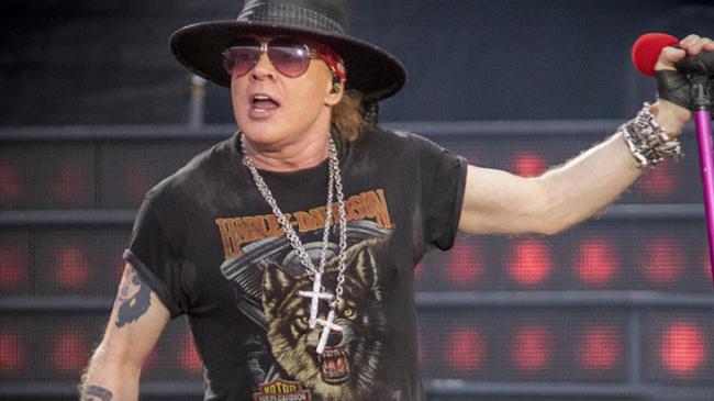 Guns N' Roses estrenó nuevo tema en su regreso a los shows en vivo