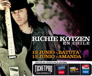Richie Kotzen en Chile, revisa toda la info: