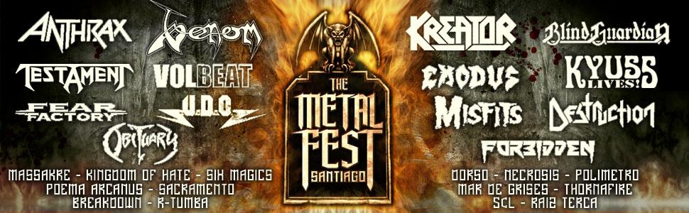 The Metal Fest 2012 anuncia cartel completo, última banda confirmada: Kyuss Lives!