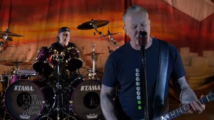 """Metallica celebró los 35 años de """"Master of Puppets"""" tocando 'Battery' en la TV"""