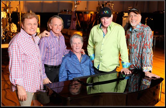 The Beach Boys llegan a Chile para celebrar sus 50 años