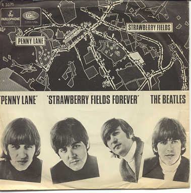 "Cancionero Rock: ""Penny Lane"" / ""Strawberry Fields Forever"" – The Beatles (1967)"