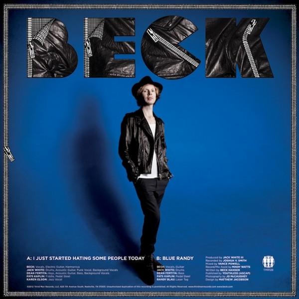 Escucha la nueva canción de Beck, que cuenta con la colaboración de Jack White