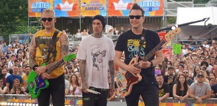 Blink-182 anuncia nuevo álbum de estudio para septiembre