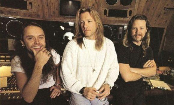 """Bob Rock vende los derechos de sus canciones del """"Album Negro"""" de Metallica"""