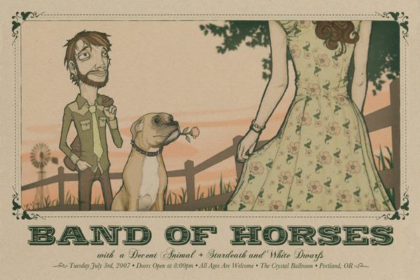 Band of Horses: Galopando fuerte hacia Lollapalooza