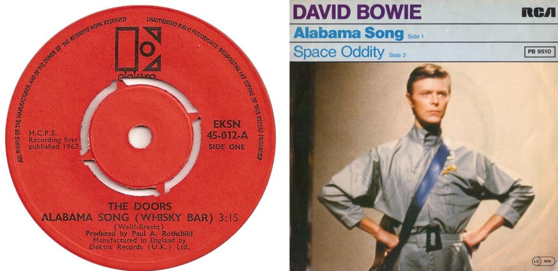 "2×1: ""Alabama Song"" The Doors vs. David Bowie"