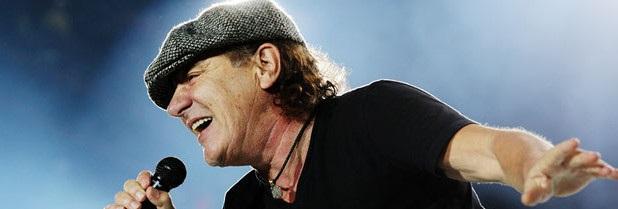 Gran susto: Brian Johnson de AC/DC sufrió un accidente automovilístico