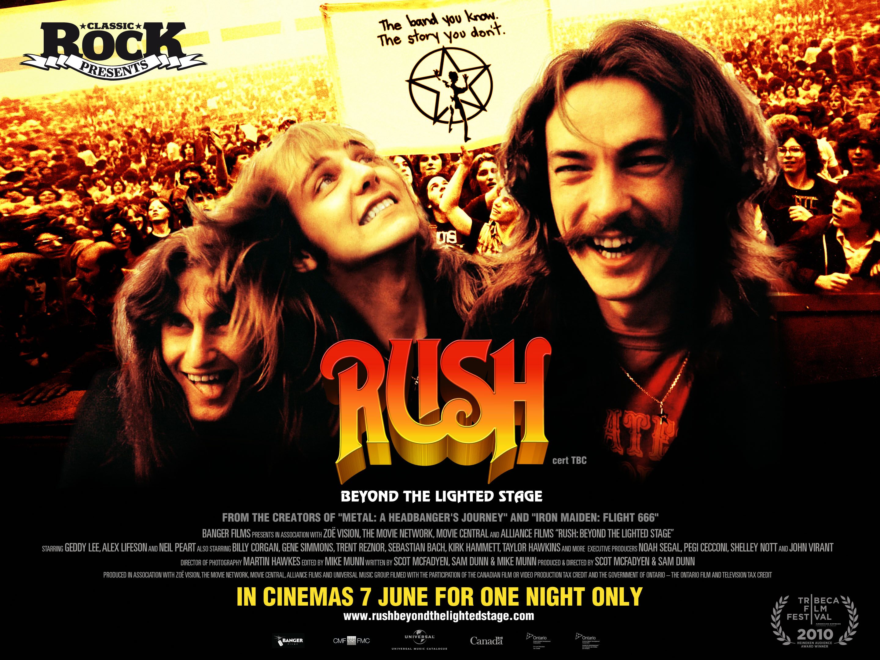 "Rockumentales: ""Beyond the Lighted Stage"" la historia de Rush"