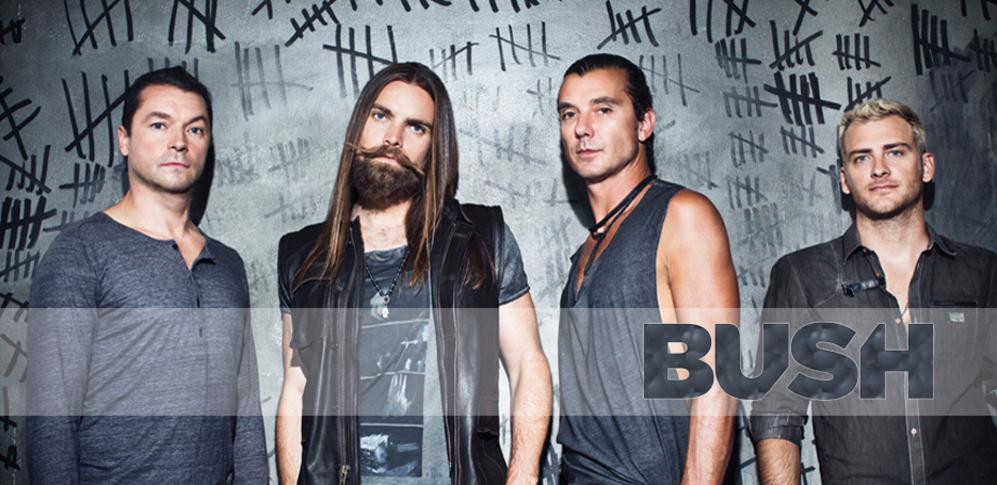 Bush trabaja en nuevo disco de estudio con el productor Nick Raskulinecz (Deftones, Foo Fighters, Rush)