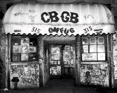 Se realizará película sobre el mítico club neoyorkino CBGB