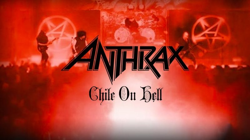 VIDEO: Anthrax comparte completo Chile on Hell, el notable registro de su show en el Teatro Caupolicán de 2013