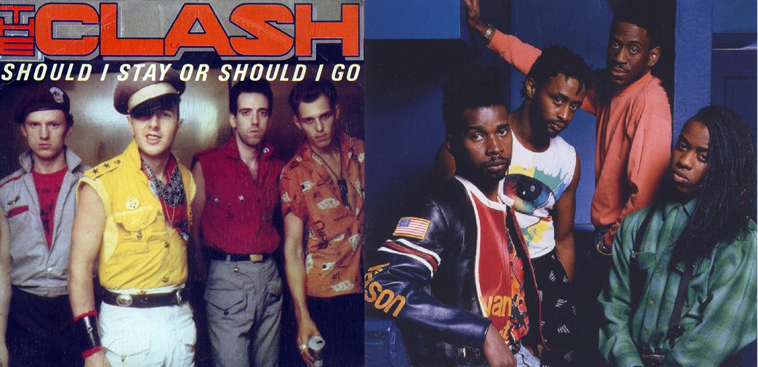 "2×1: ""Should I Stay or Should I Go"" The Clash vs. Living Colour"