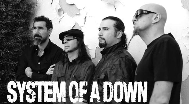 System of a Down llega al número uno de Billboard gracias a sus nuevas canciones