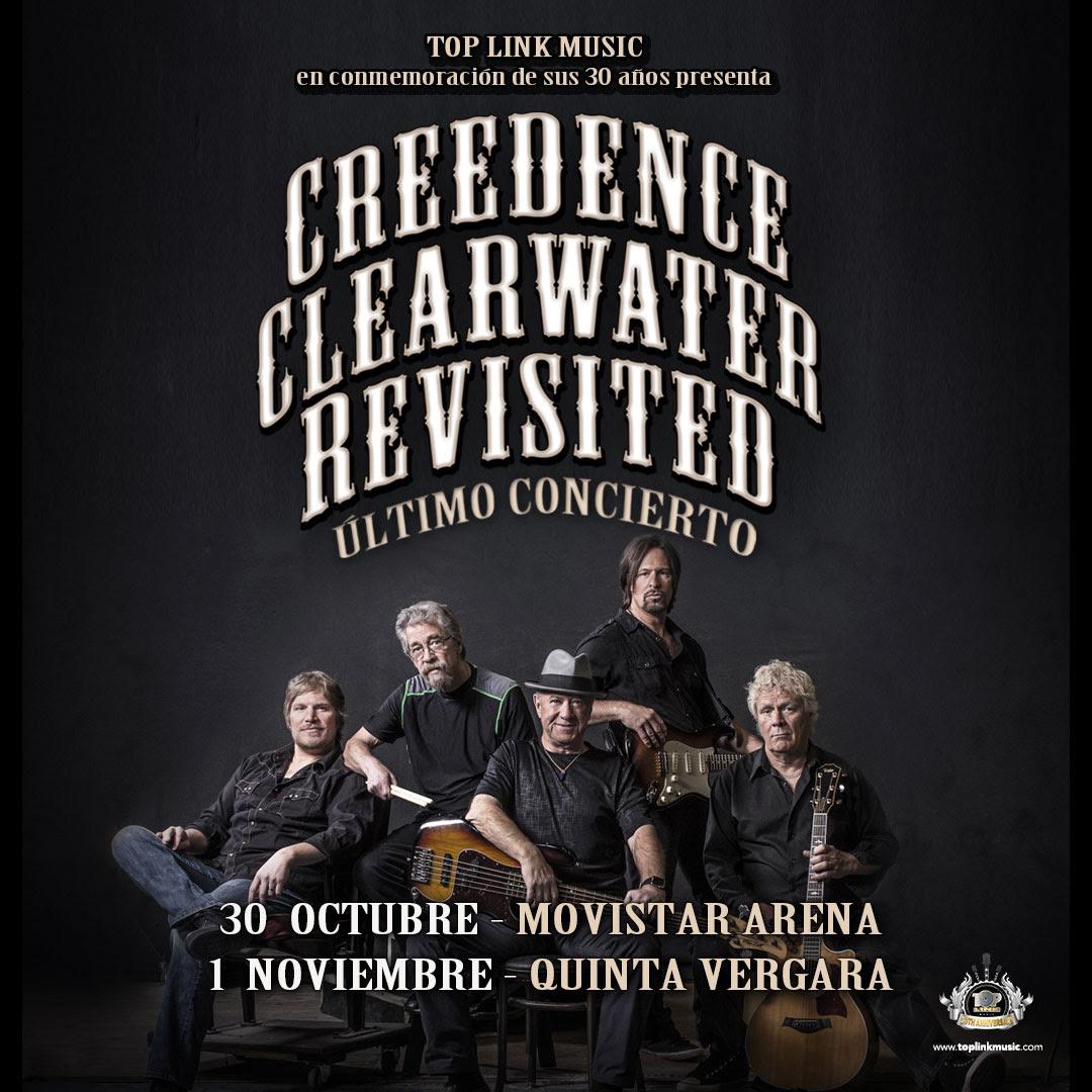 Creedence Clearwater Revisited anuncia shows de despedida en Chile