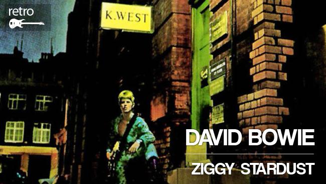 """""""Ziggy Stardust"""" de David Bowie, a 40 años de su creación"""