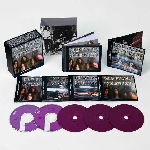 """Deep Purple anuncia reedición del 40 aniversario de """"Machine Head"""""""