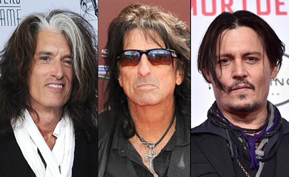 The Hollywood Vampires, el súpergrupo integrado por Alice Cooper, Joe Perry,  Johnny Depp y Paul McCartney