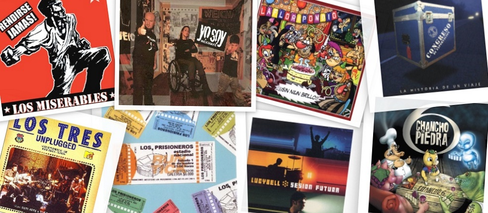 15 grandes discos de rock chileno en vivo