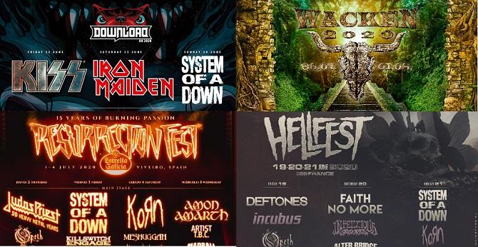 Europa al ritmo del rock: los festivales del verano y sus lineup de ensueño