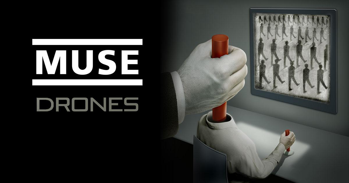 Muse revelan dos nuevos tracks de su próximo disco, escucha 'Reapers' y 'The Handler'