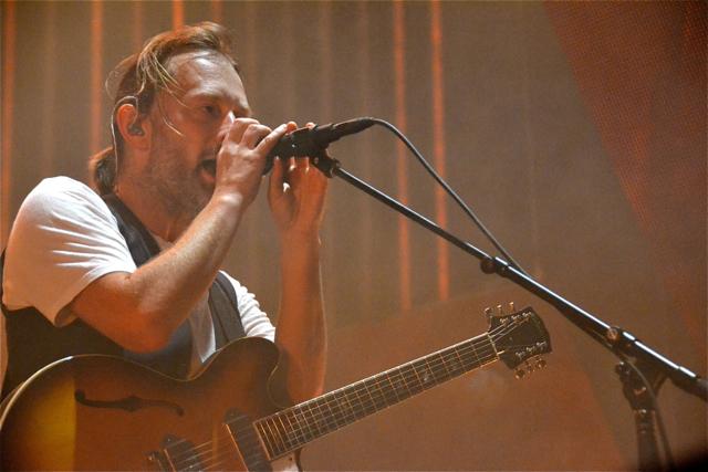 Radiohead muestra otra nueva canción más otras sorpresas en su reciente show