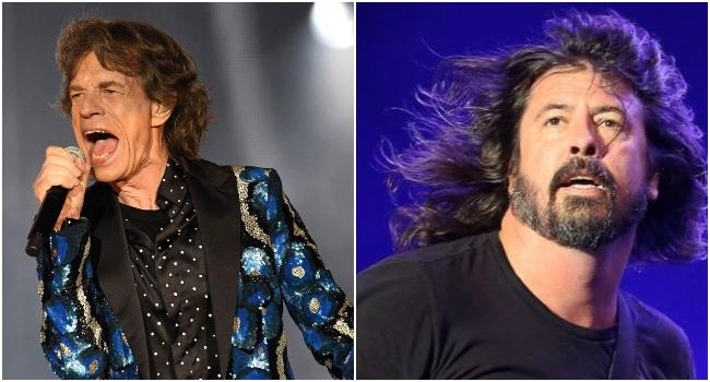"Mick Jagger estrena nuevo tema junto a Dave Grohl, escucha ""Eazy Sleazy"""