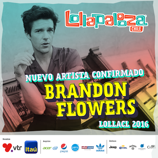 Lollapalooza anuncia cambio en cartel: Entra Brandon Flowers y cancela Snoop Dogg