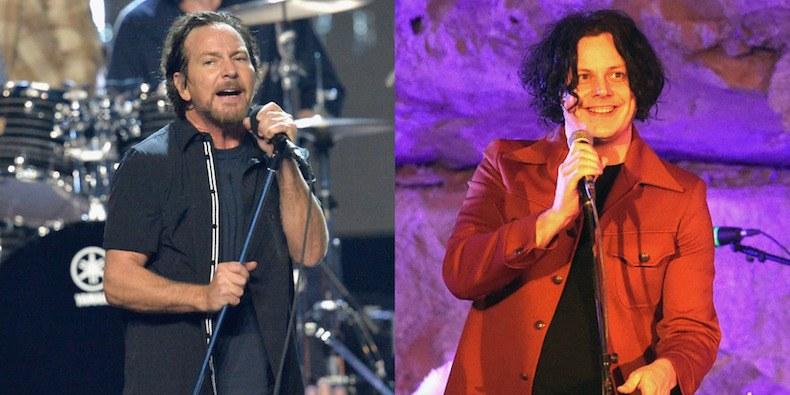 """Jack White cubrió """"Daughter"""" en vivo en respuesta a Pearl Jam"""