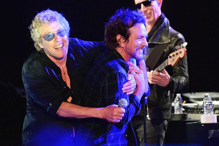 The Who regresan a los escenarios con un gran concierto en Wembley junto a Eddie Vedder