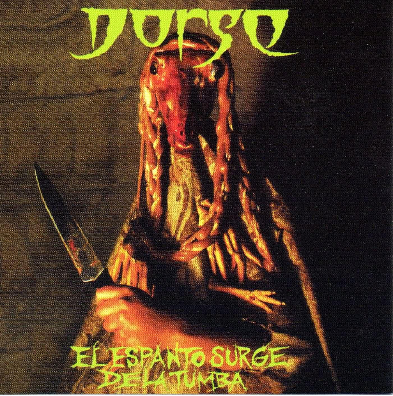"""Disco Inmortal: Dorso- """"El Espanto Surge de la Tumba"""" (1993)"""