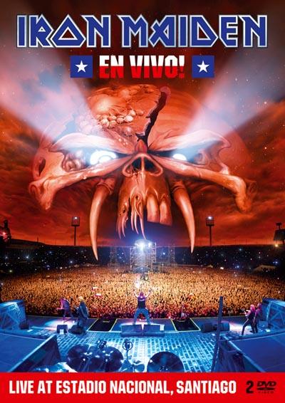 """DVD de Iron Maiden """"En Vivo!"""" en Chile se exhibirá de forma gratuita y exclusiva"""