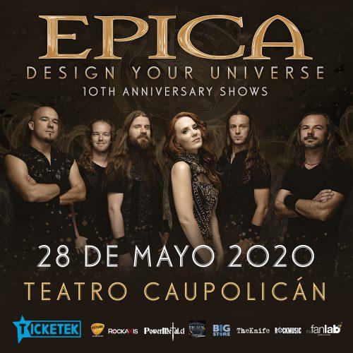 Epica sí llega a Chile: la banda ha reagendado su concierto para mayo de 2020
