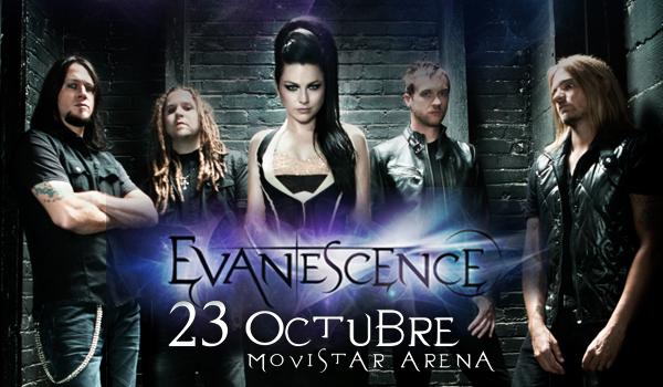 Evanescence regresa a Chile en octubre