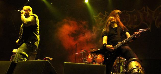 "Metal Fest 2012: Exodus en Chile ""Al son del vals tóxico"""