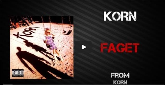 "Cancionero Rock: ""Faget""-Korn (1994)"