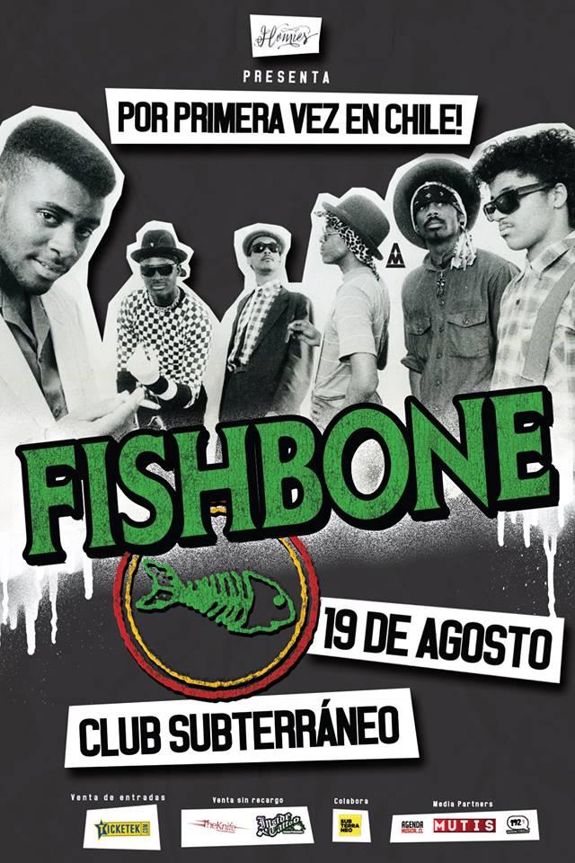 Fishbone llega por primera vez a Chile, entradas a la venta