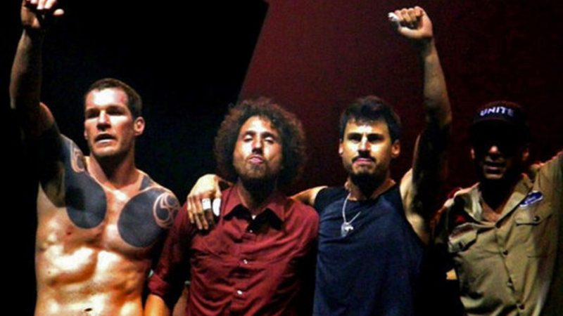 Rage Against The Machine alza la voz a favor de Palestina ante el conflicto de Medio Oriente