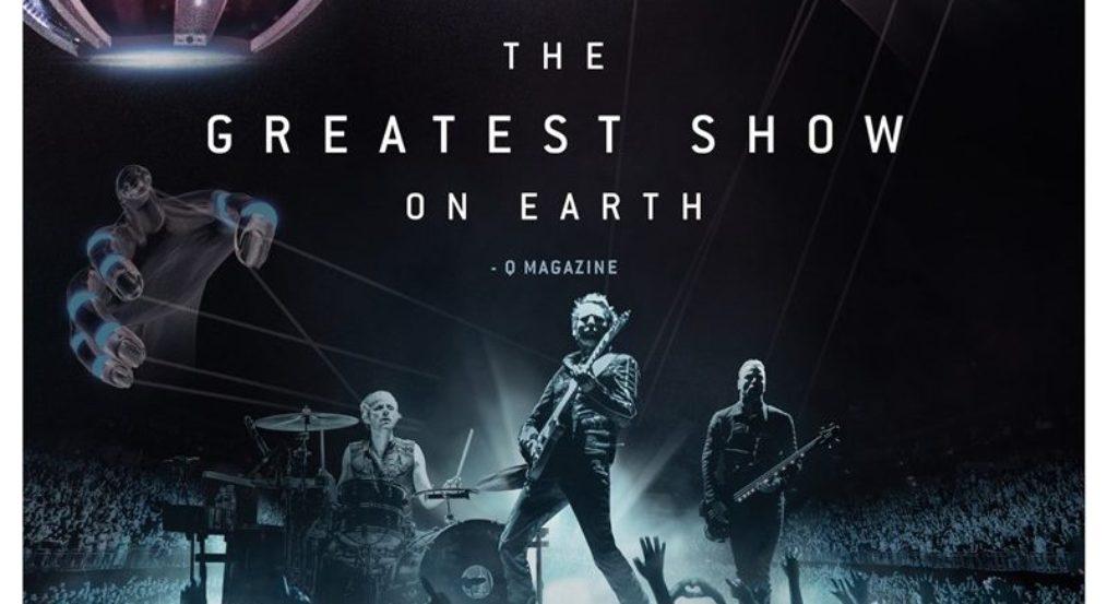 """Muse a la pantalla grande: En Julio se estrena """"Drones World Tour"""", película centrada en sus espectaculares actuaciones en vivo"""