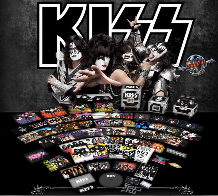 """Kiss lanza """"Kissteria"""", la reedición de todos sus discos en formato de vinilo"""