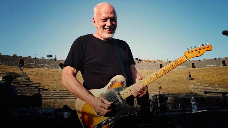 David Gilmour transmitirá su show Live at Pompeii de 2017